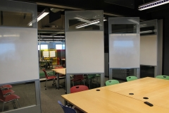 Crystal wall with 4x4 writable surface
